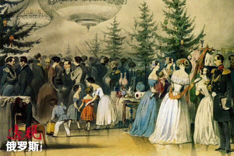 Christmas in russian tzar family CN