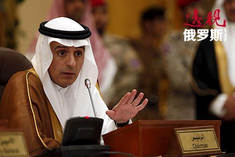 Saudi Arabia's Foreign Minister Adel al-Jubeir CN