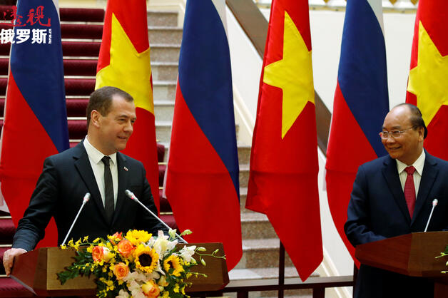 Medvedev and Nguyen Xuan Phuc