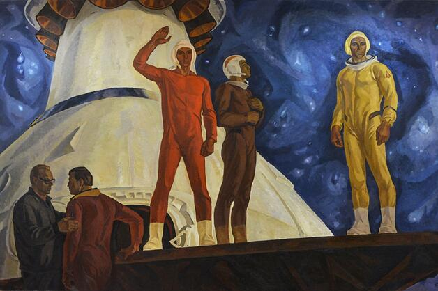 Space in Soviet and Russian art