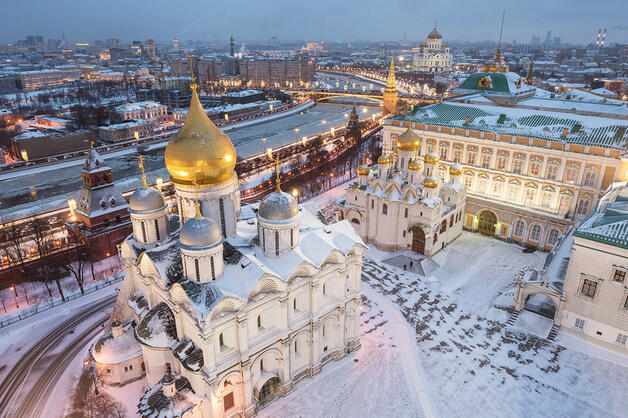 Cathedral Square and Grand Kremlin Palace