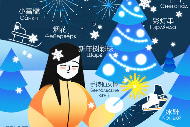 New Year Visual Dictionary