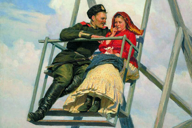 Nikolai Yaroshenko - On swings