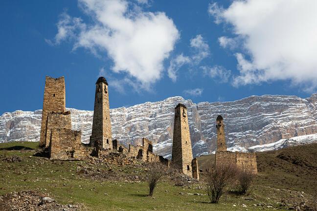 Towers of the Caucasus