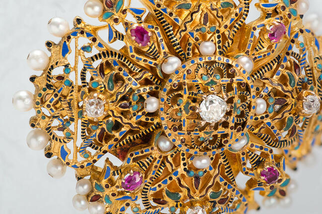 Historical museums jewel box