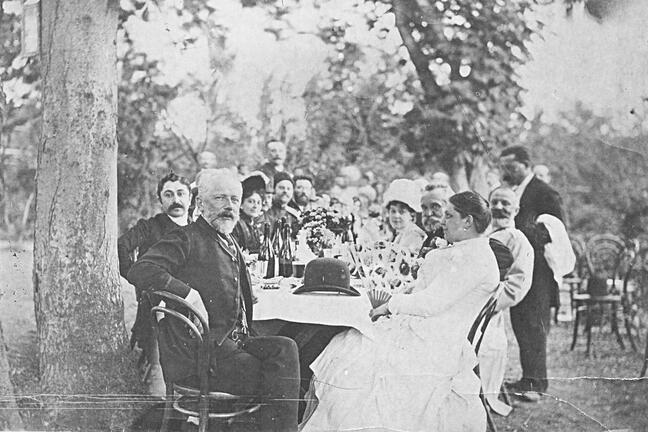 Feast in the Russian Empire