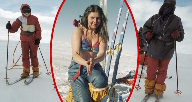 Soviet Female Skiers