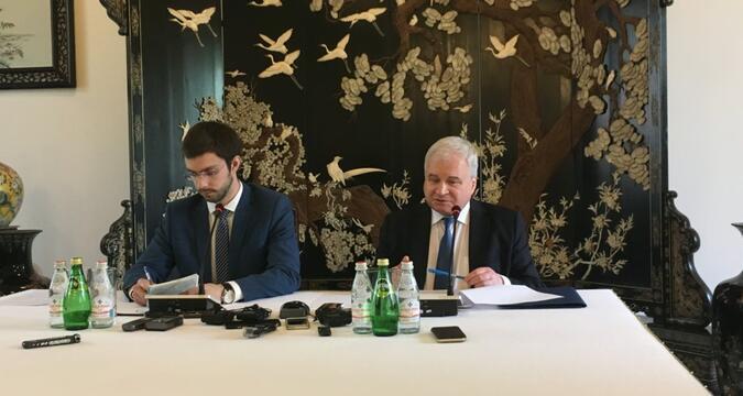 Denisov press-conference