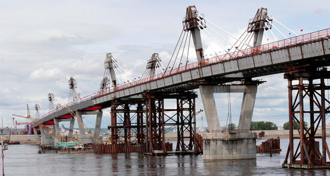 Russia China Bridge