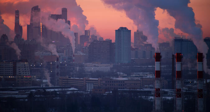 Moscow city ecology