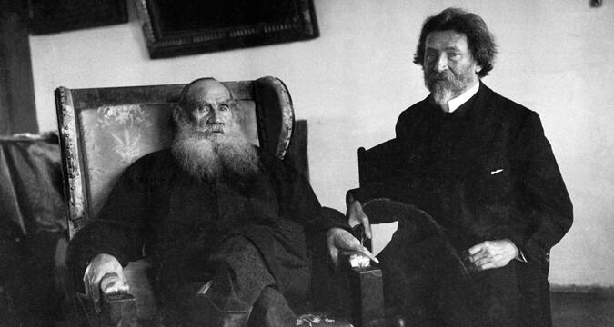 Tolstoy and Repin