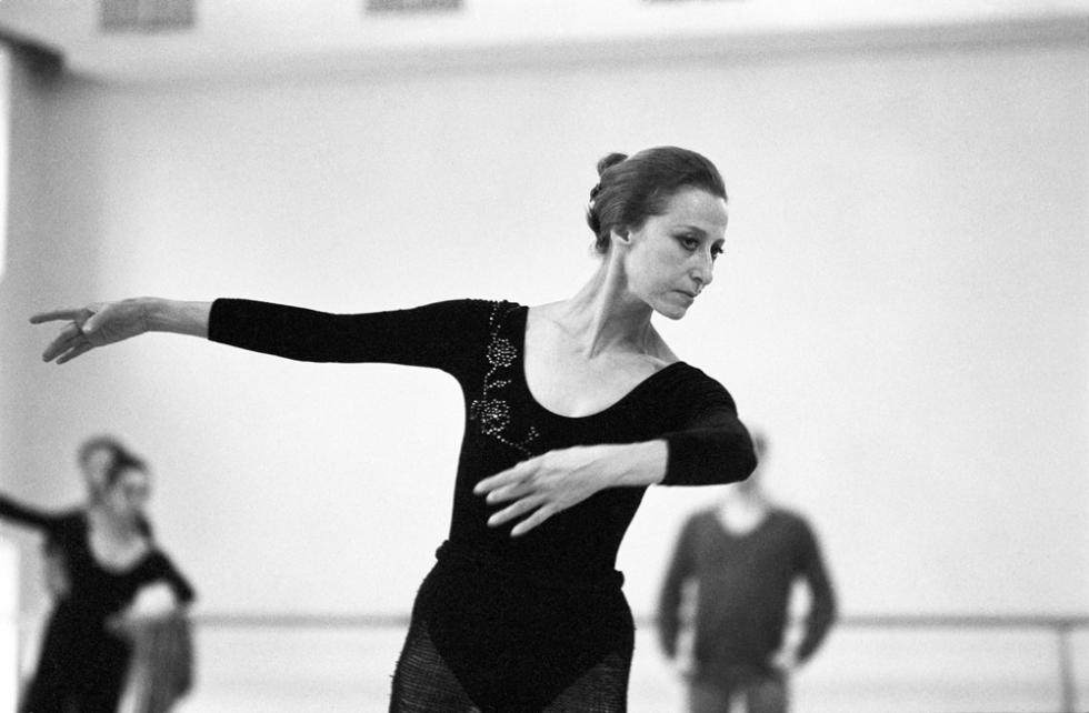 芭蕾舞女演员玛雅·普利谢茨卡娅。图片来源:塔斯社