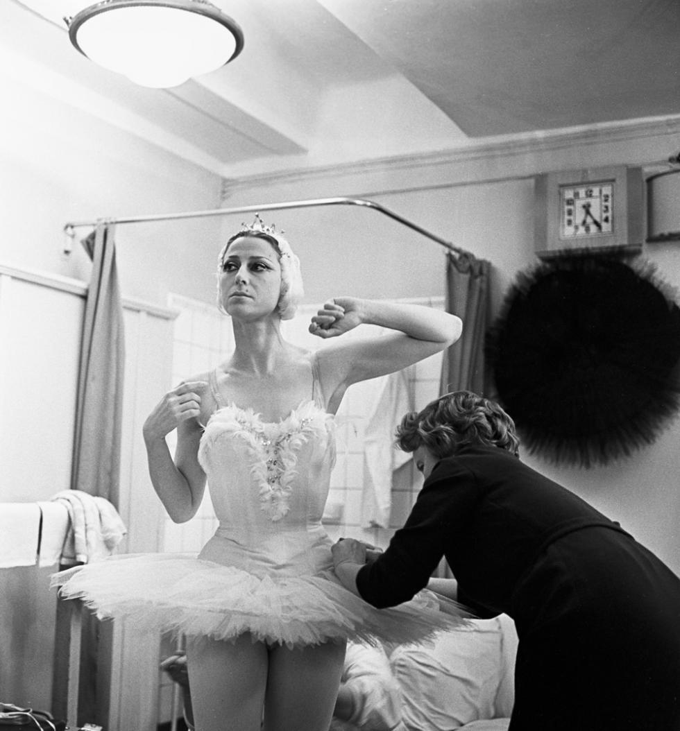 俄罗斯芭蕾舞演员玛雅·普利谢茨卡娅。图片来源:俄新社