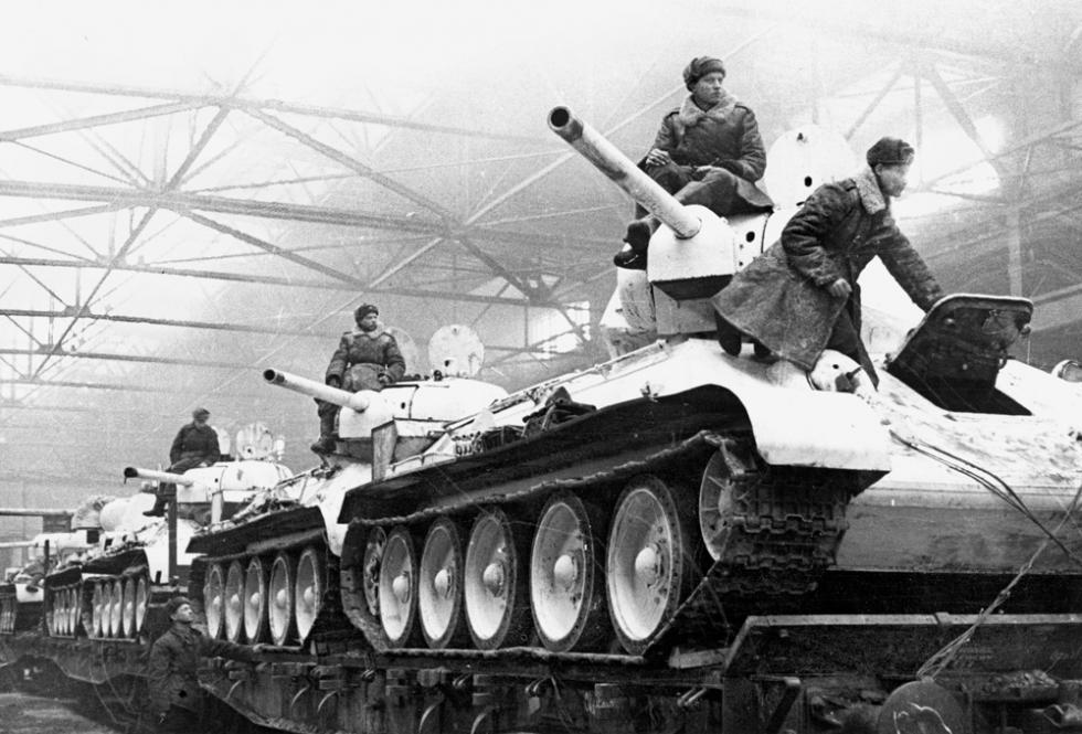 图片来源:乌拉尔重型机器制造厂历史博物馆