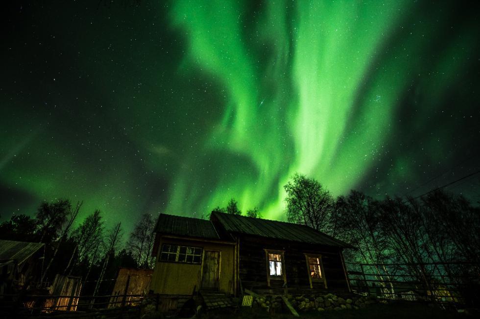 卡累利阿的北极光。摄影:Ivan Dementievsky
