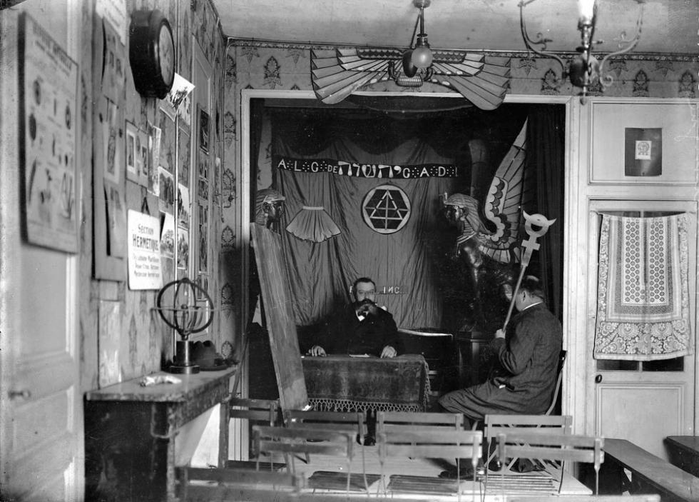 法国神秘学者巴布斯。图片来源:Roger Violet / East-News