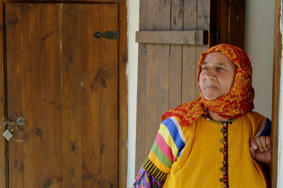 涅克拉索夫哥萨克人瓦尔瓦拉·格林娜。摄影:Ekaterina Filippovich