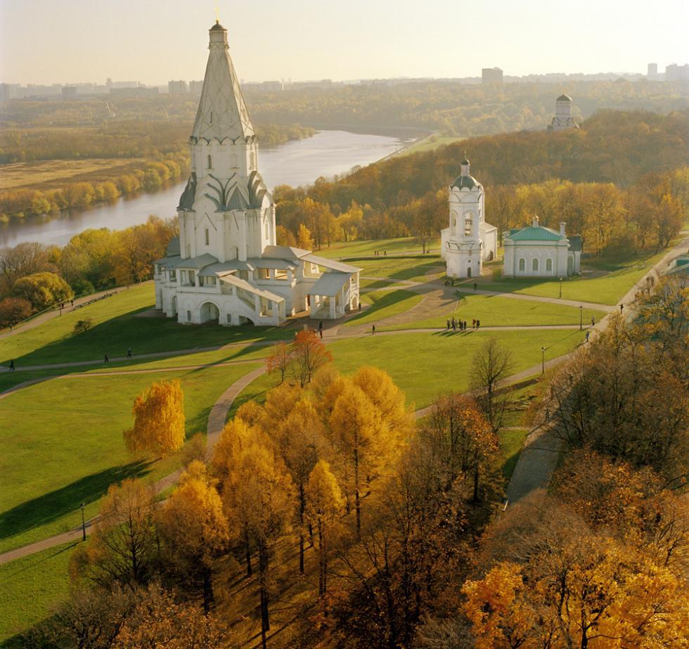 科洛缅斯科耶博物馆保护区。图片来源:Vladimir Artemov / 塔斯社