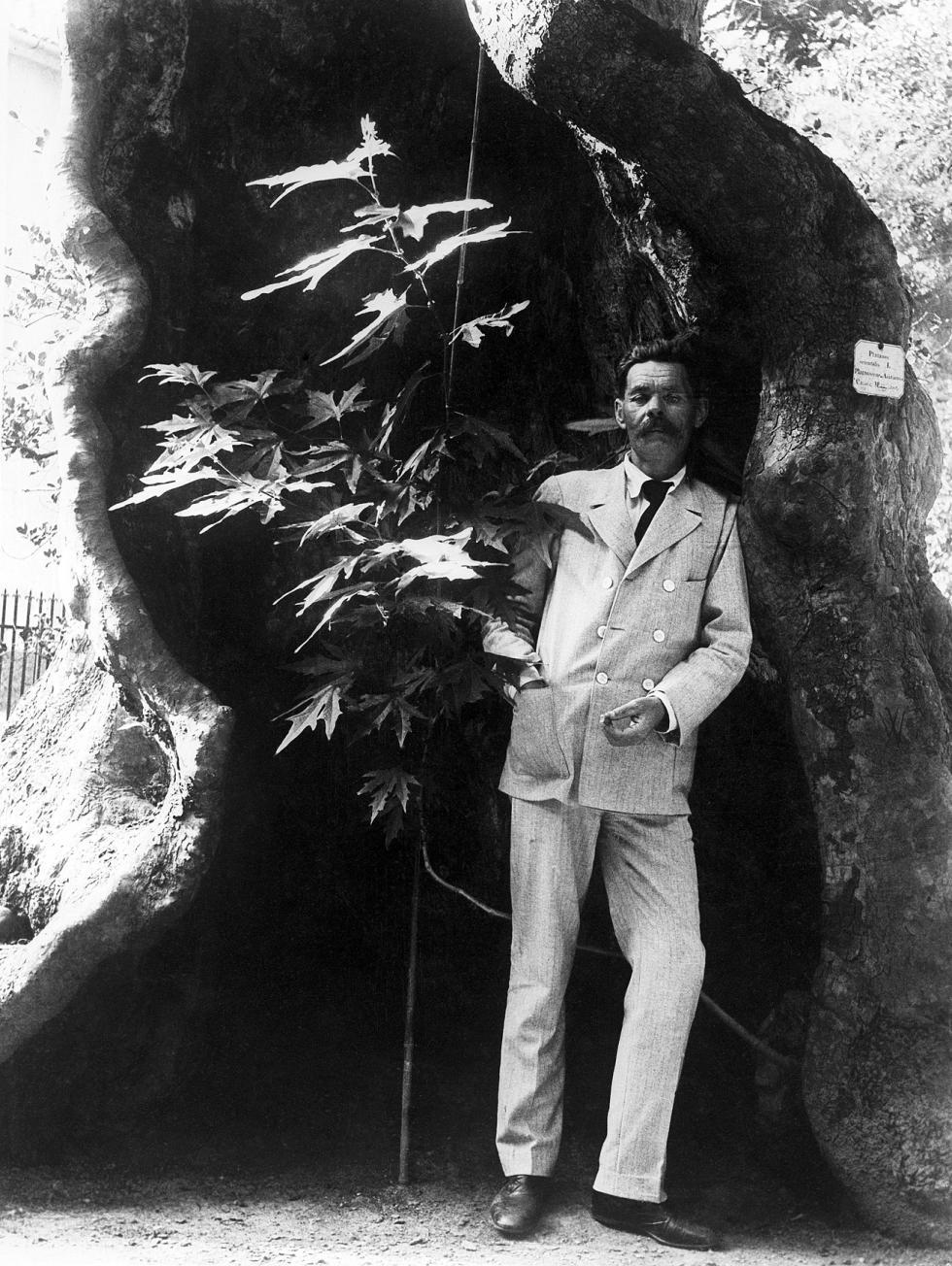 高尔基在意大利,1912年。图片来源:塔斯社