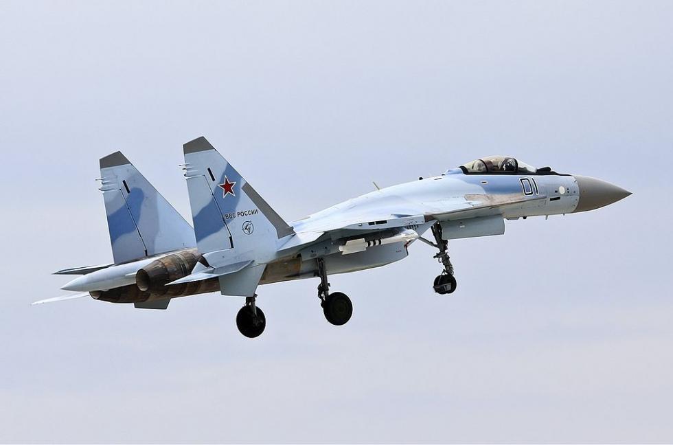 苏-35S战斗机。图片来源:Wikipedia
