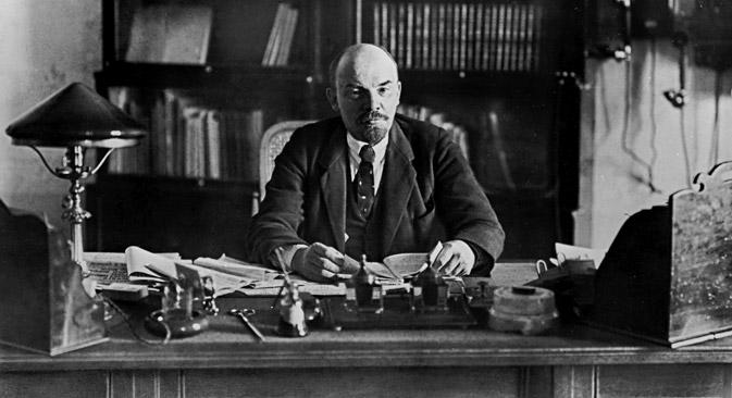 弗拉基米尔·列宁。图片来源:俄新社