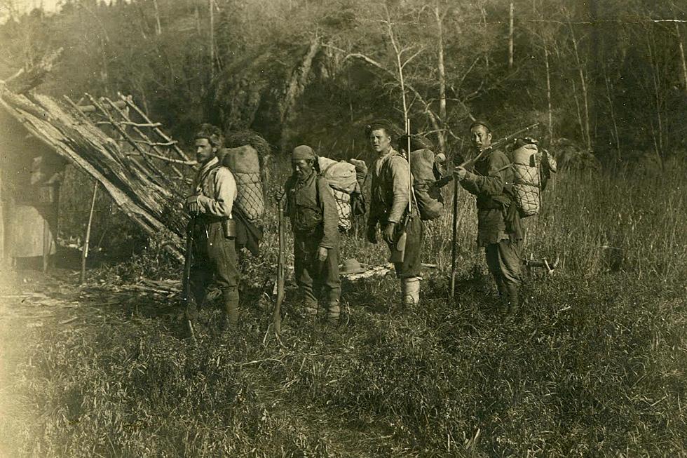 阿尔谢尼耶夫在滨海边疆区原始森林中进行的探险考察之一。