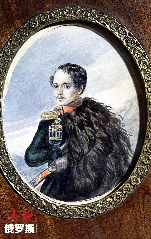 1847年。米哈伊尔·莱蒙托夫,自画像。图片来源:俄新社