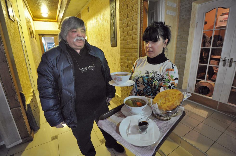 """""""克里米亚小庭院""""饭店的老板利法特·别基洛夫。摄影:Legion Media"""
