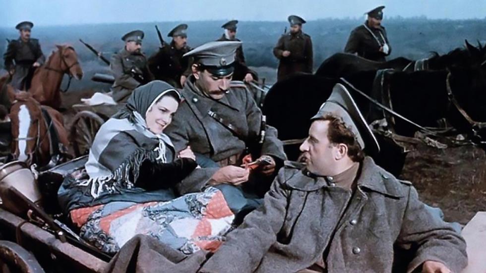 《静静的顿河》电影的镜头。图片来源:kinopoisk.ru