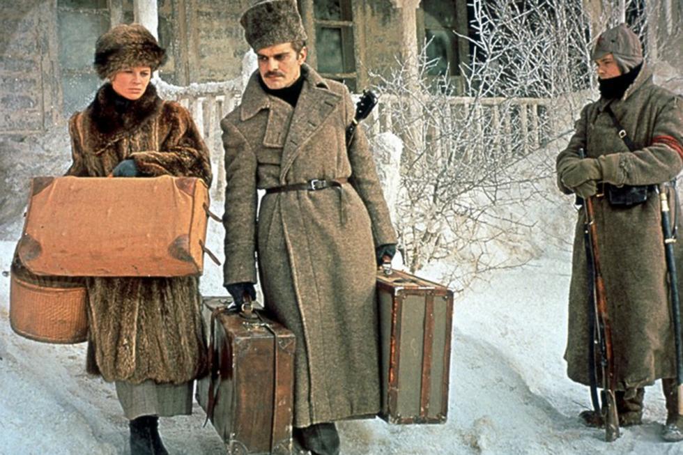 《日瓦戈医生》电影的镜头。图片来源:kinopoisk.ru