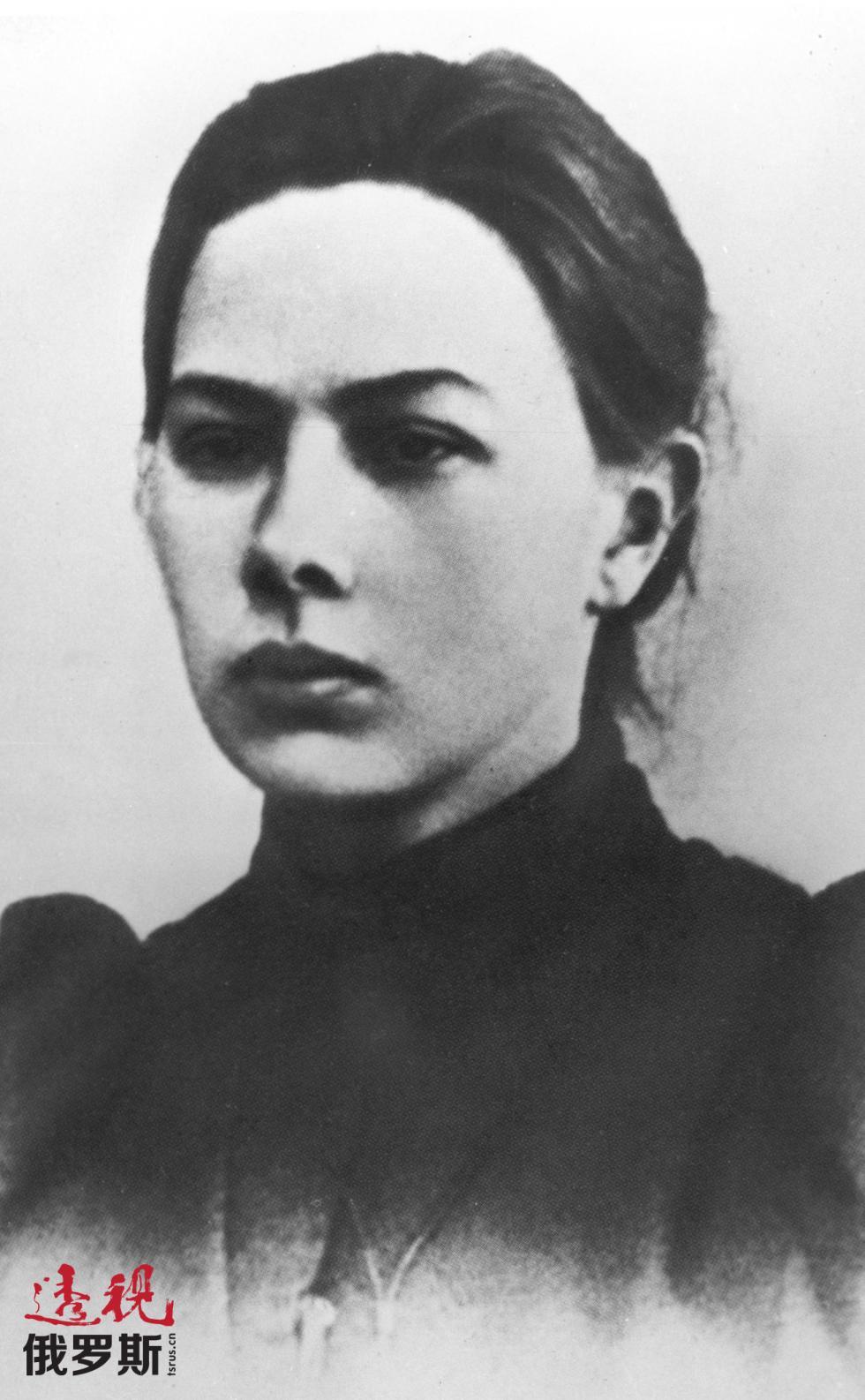 1978年6月1日。年轻的娜杰日达·克鲁普斯卡娅。图片来源:俄新社