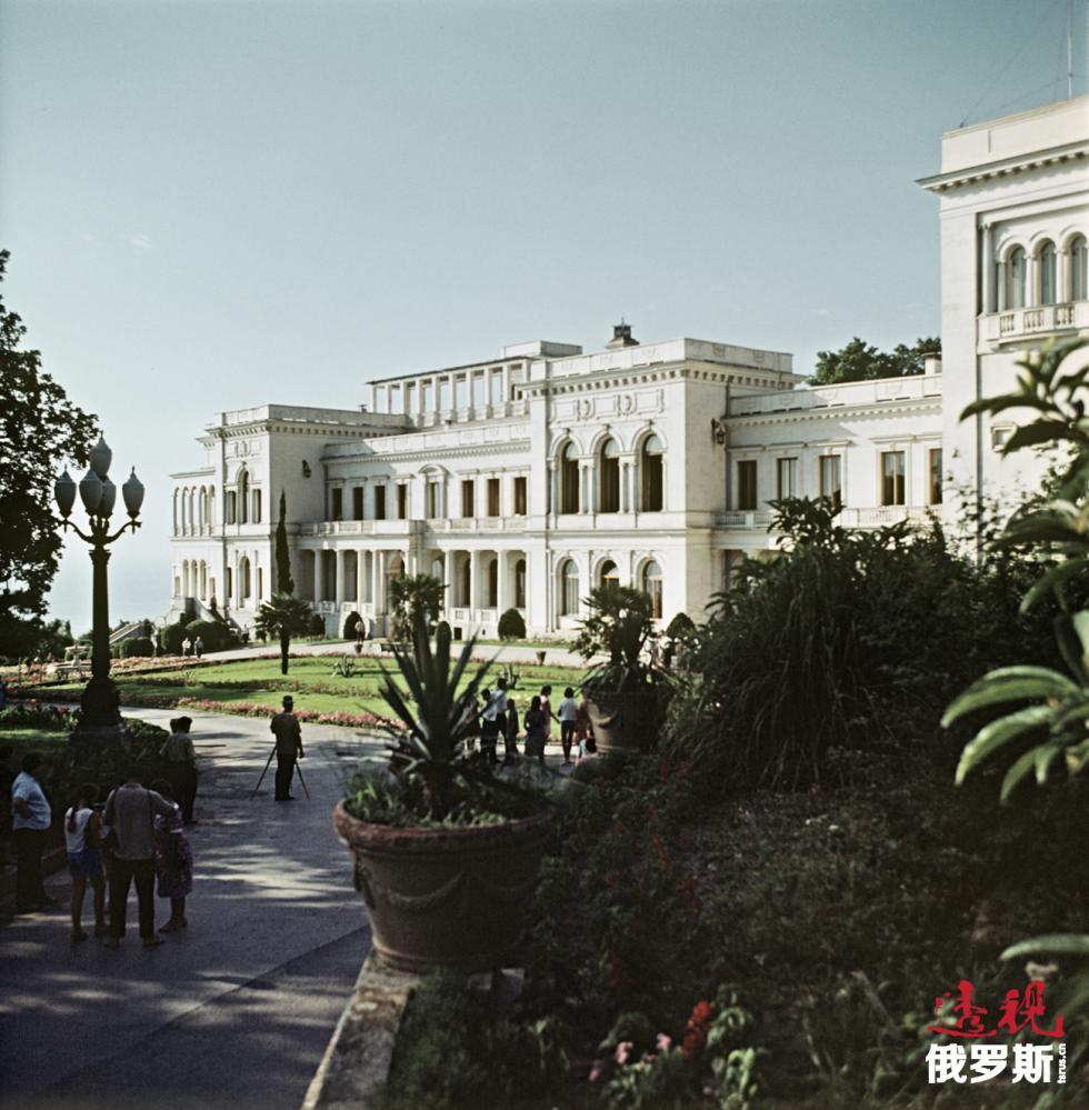 """1966年。""""里瓦几亚""""疗养院。图片来源:俄新社"""