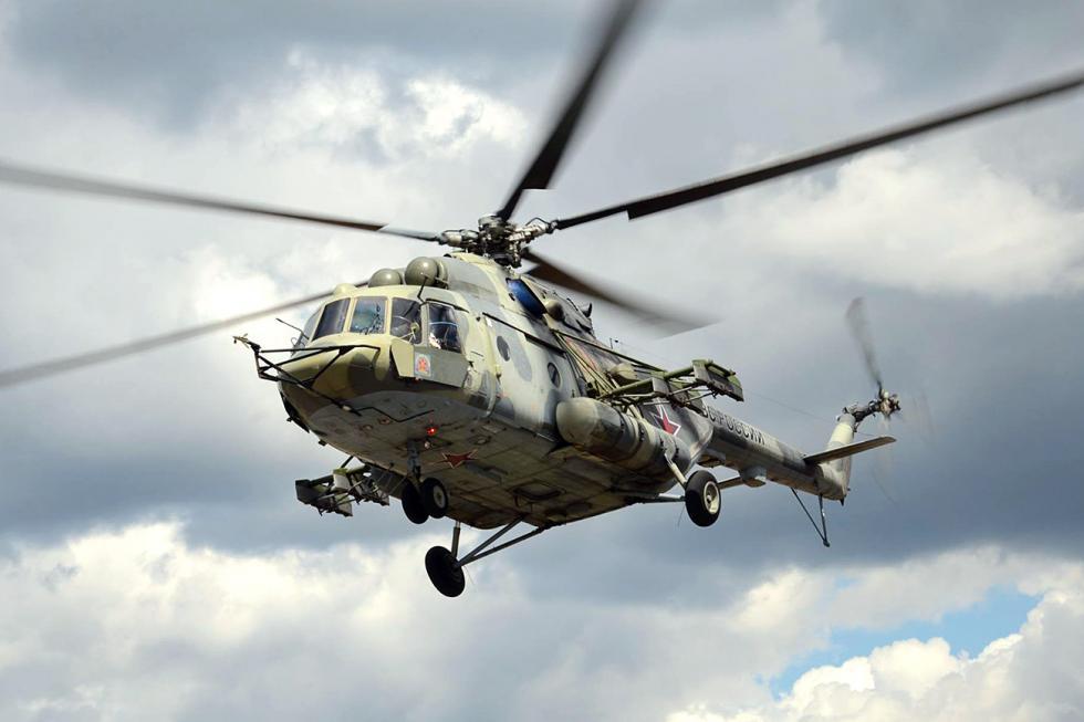 米-171-Sh-VN直升机。图片来源:Russian Helicopters