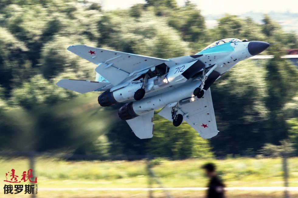 米格-35战斗机。图片来源:Sergey Bobylev / 塔斯社