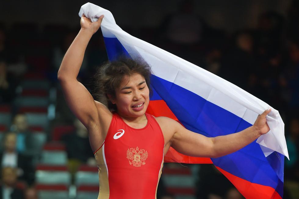 伊莉娜·奥罗格诺娃。图片来源:AFP