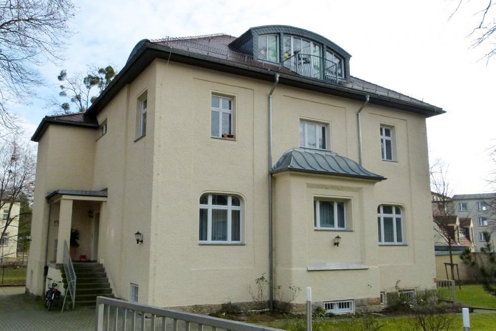 克格勃驻东德总部。图片来源:Brücke-Osteuropa