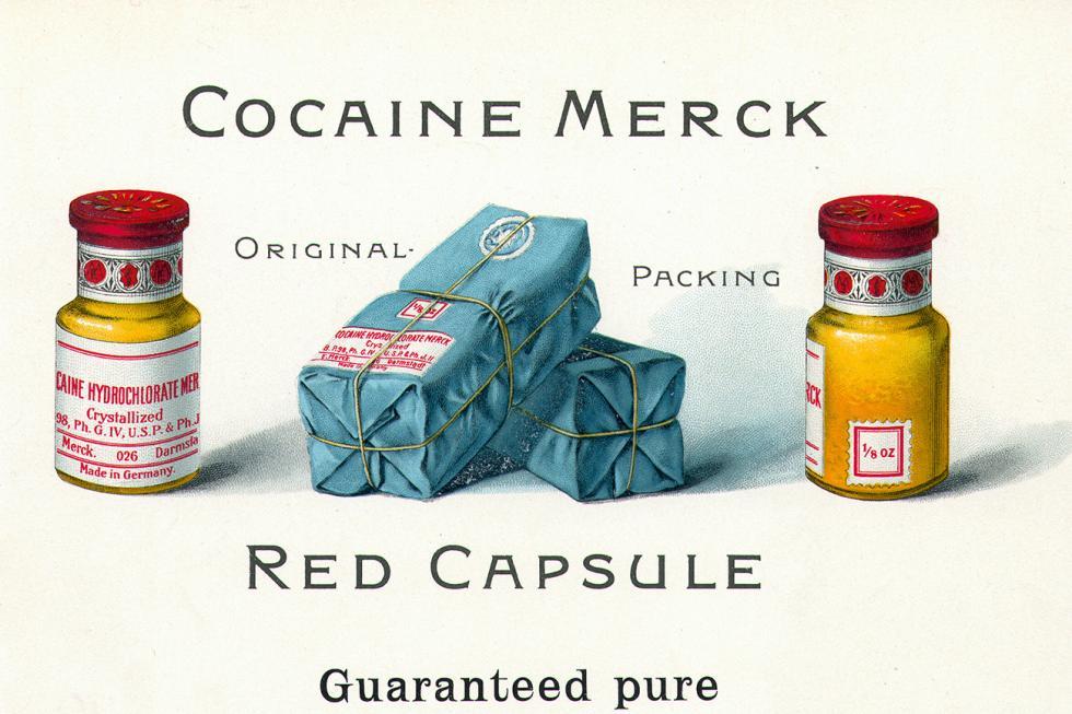19世纪末,可卡因还可以在药店里合法销售。档案图片