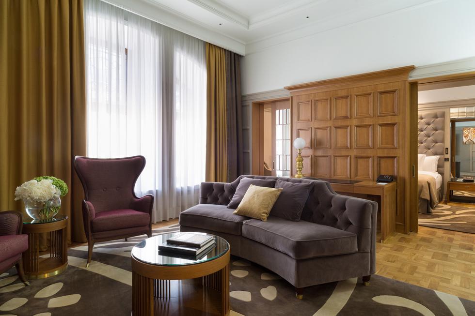 莫斯科大都会饭店的贵宾套房。图片来源:Hotel Metropol Moscow