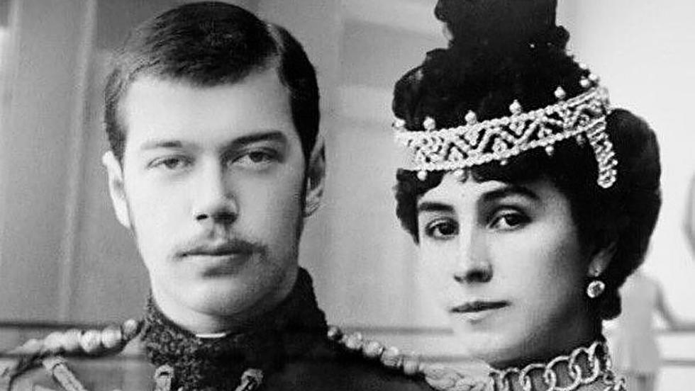 玛蒂尔达·克舍辛斯卡娅与尼古拉二世。图片来源:Wikipedia