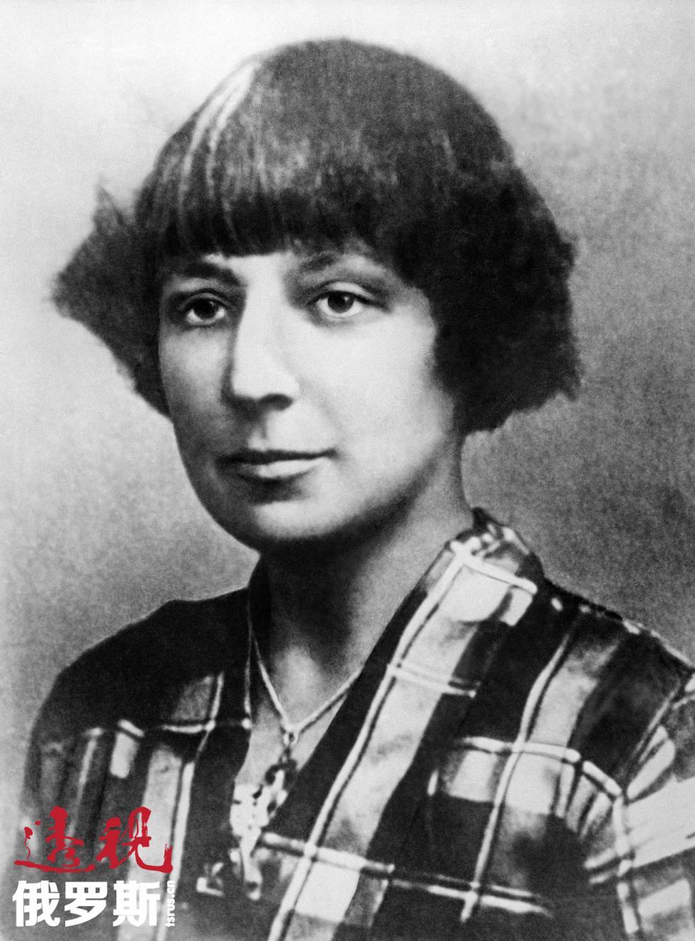 俄罗斯诗人玛丽娜·茨维塔耶娃。图片来源:塔斯社