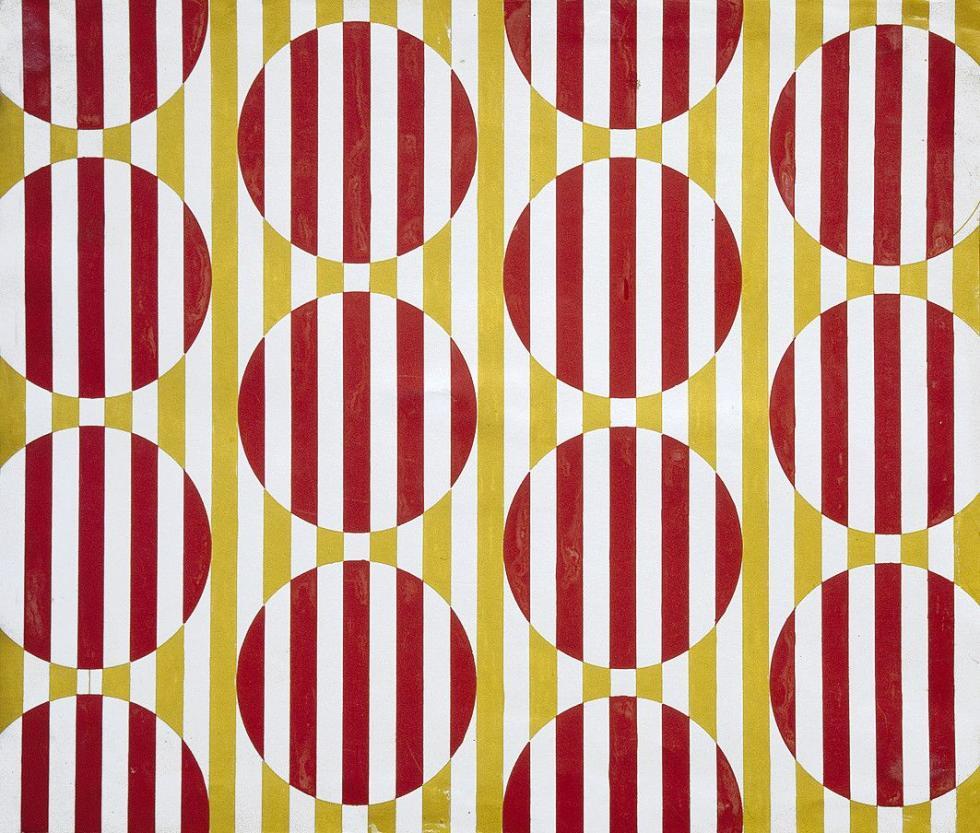 瓦尔瓦拉·斯捷潘诺娃创造的纺织设计。图片来源:私人收藏