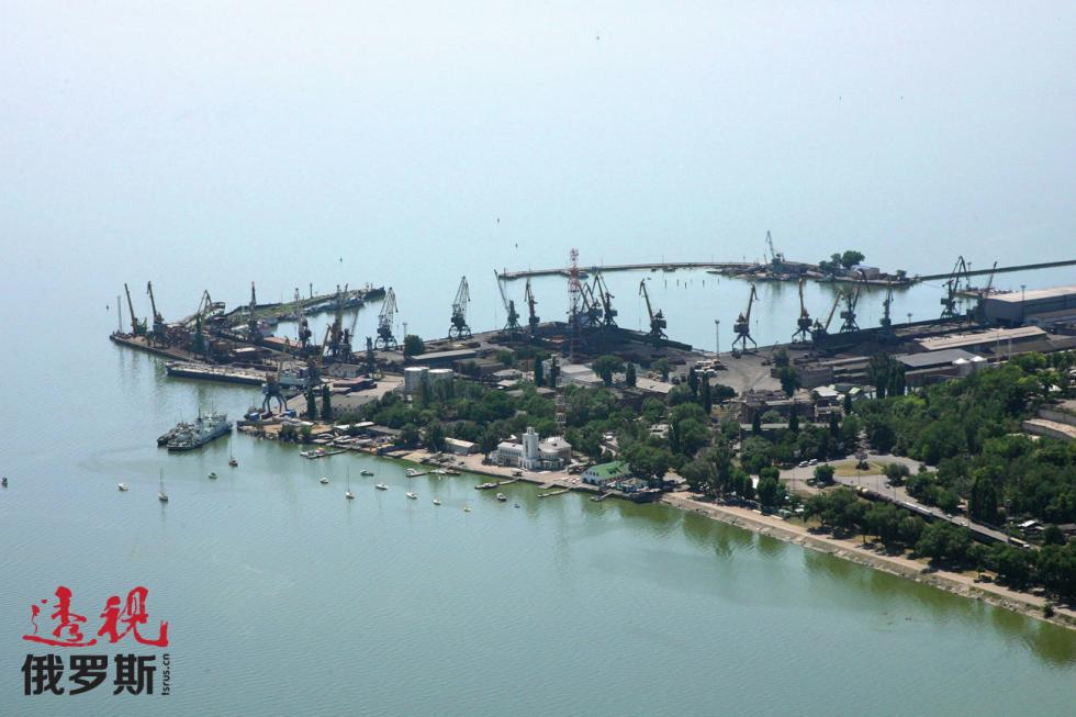 塔甘罗格港口。图片来源:Anton Denisov/俄新社