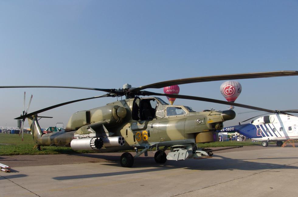 米-28战斗直升机。 图片来源:Vitaly V. Kuzmin
