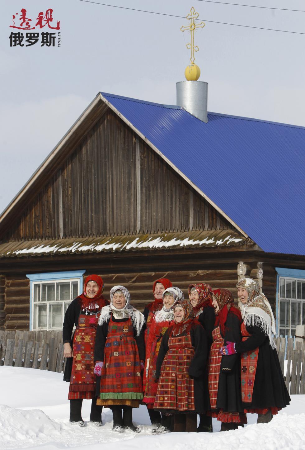 布兰诺沃村的老奶奶。图片来源:路透社