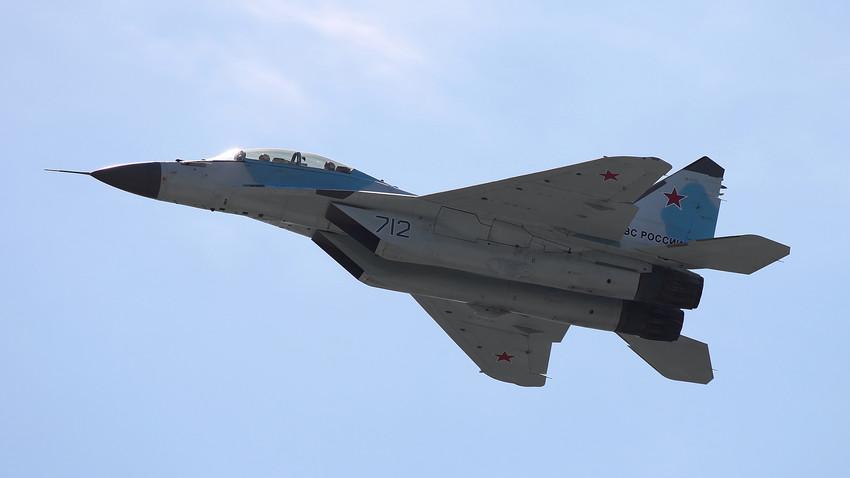 米格-35喷气式战斗机。 摄影:Vitaly V. Kuzmin