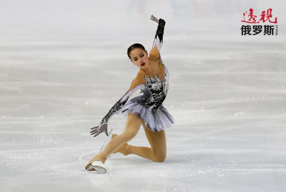 阿琳娜·扎吉托娃在2017年获得大奖赛冠军。图片来源:路透社