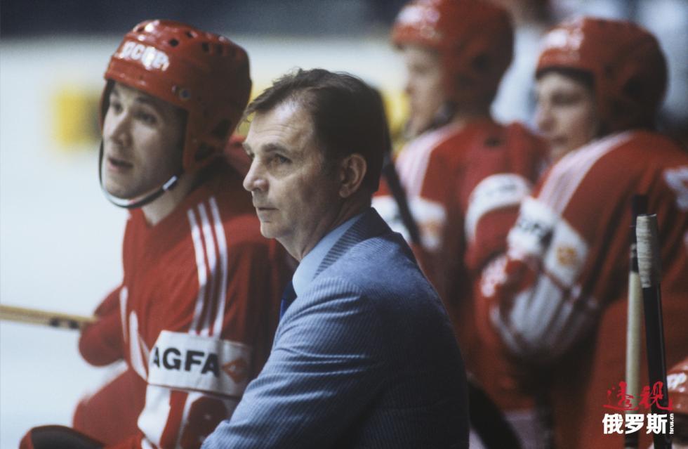 冰球教练维克多·吉洪诺夫。 图片来源:Sergey Guneev / 俄新社