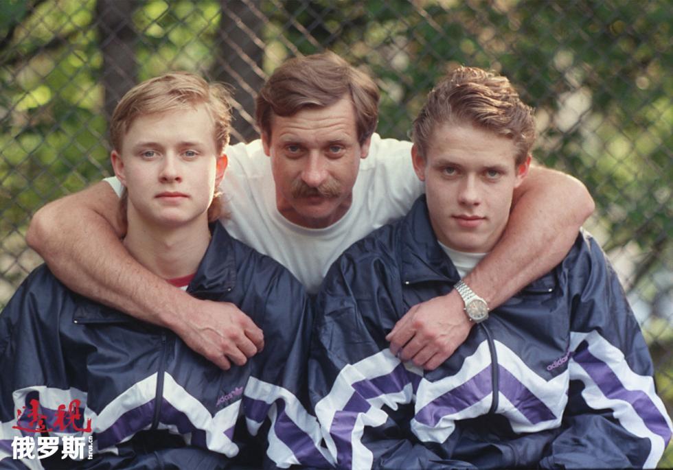 瓦列里·布雷、弗拉基米尔·布雷和帕维尔·布雷。图片来源:Igor Utkin / 塔斯社