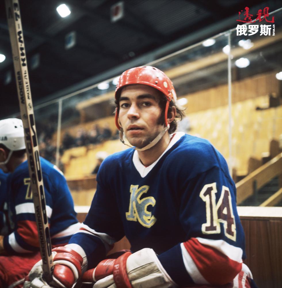 苏联冰球选手维亚切斯拉夫·阿尼辛。 图片来源:Vyacheslav Un Da-sin/塔斯社