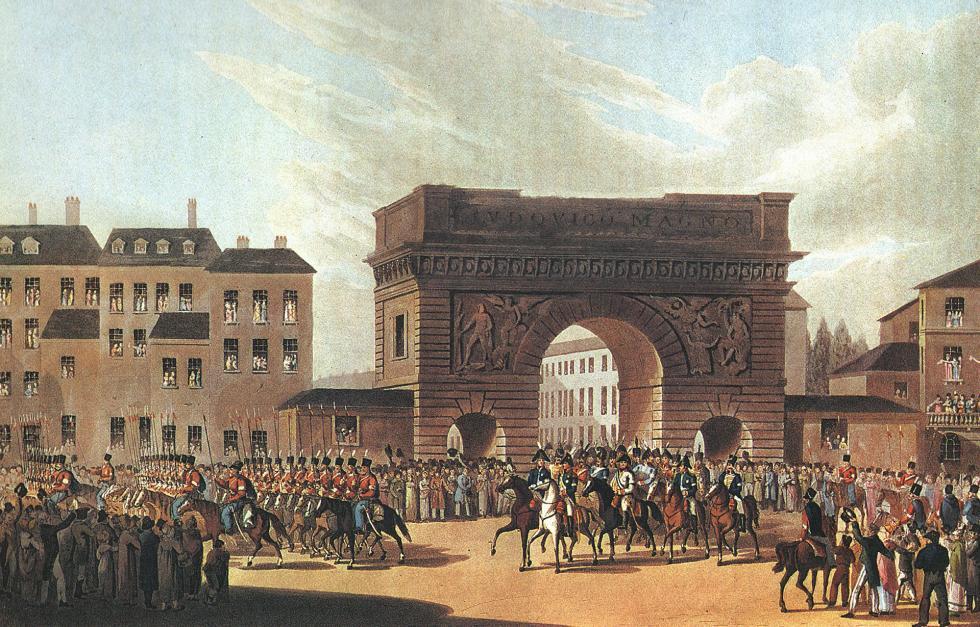 1814年,俄罗斯军队进入巴黎。图片来源:公开来源